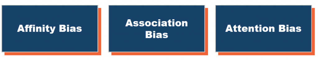 Types of Unconscious Bias
